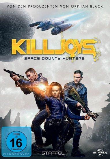 Gewinnspiel: Zwei DVD-Boxen von Killjoys – Staffel 1